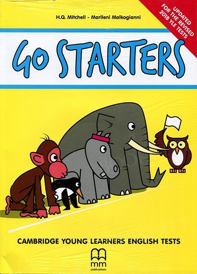 Go Starters (Updated for the revised 2018) Student's Book+ Student's Audio CDs