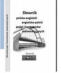 Słownik polsko-angielski angielsko-polski pojęć i kontekstów matematycznych