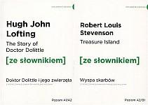 Wyspa skarbów / Dr Dollitle i jego zwierzęta z podręcznym słownikiem angielsko-polskim