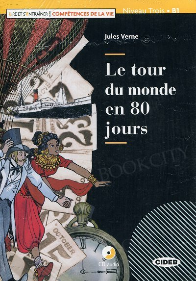 Le tour du monde en 80 jours Book + CD + App