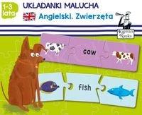 Układanki malucha Angielski Zwierzęta