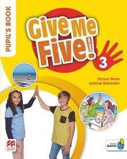 Give Me Five! 3 Zeszyt ćwiczeń + kod do NAVIO