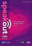 Speakout Intermediate Plus (2nd edition) Coursebook with DVD-ROM & MyEnglishLab