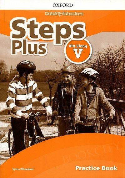 Steps Plus dla klasy 5 Materiały ćwiczeniowe z kodem dostępu do Online Practice