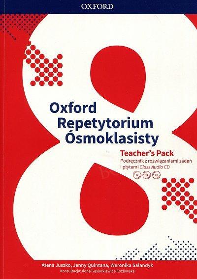 Repetytorium ósmoklasisty Oxford Teacher's Pack Podręcznik z rozwiązaniami zadan i płytami audio CD