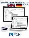 Wielkie słowniki PWN - 2w1: angielsko-polski polsko-angielski i niemiecko-polski polsko-niemiecki Pendrive