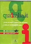 Qui Italia it livello intermedio B2 Podręcznik + DVD + CD