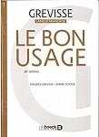 Bon Usage 16e edition