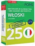 Włoski. 250 ćwiczeń ze słownictwa + 250 zagadek językowych