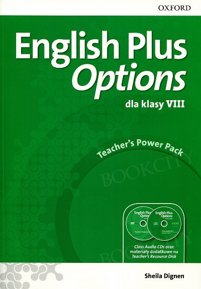English Plus Options klasa 8 Teacher's Power Pack & Classroom Presentation Tool (materiały na tablicę interaktywną) (PL)
