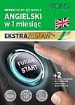 Szybki kurs Angielski w 1 miesiąc Ekstra Zestaw: Kurs + tablice: czasy i czasowniki, gramatyka