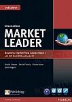 Market Leader 3rd Edition Intermediate Coursebook plus DVD-ROM FLEXI 1
