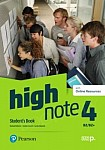 High Note 4 Student's Book + Online Audio