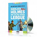 Sherlock Holmes and the Red-Headed League Książka+CD