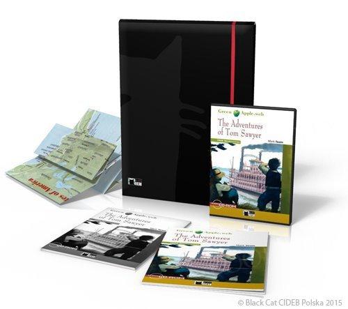 The Adventures of Tom Sawyer Reading Programme Książka + Digital Reader + materiały dodatkowe + plakaty