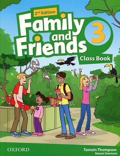 Family and Friends 3 (2nd edition) Class Book