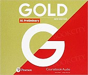 Gold B1 Preliminary New Edition Class CD