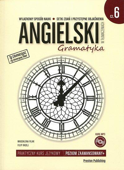 Angielski w tłumaczeniach. Gramatyka 6 Książka + CD mp3