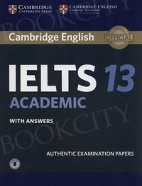 Cambridge IELTS 13 Academic (2018) Student's Book with Answers with audio online