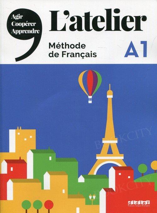 L'atelier 1 Podręcznik + DVD-ROM