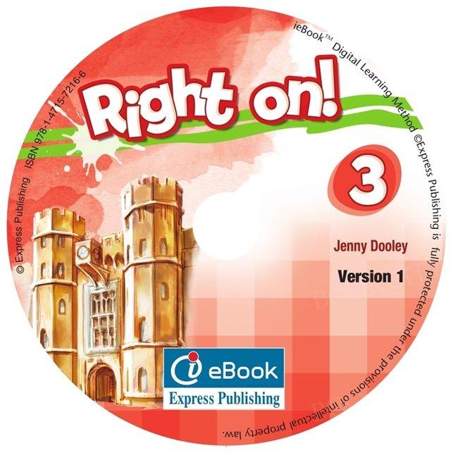 Right on! 3 Interactive eBook (Podręcznik cyfrowy)