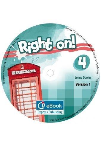 Right on! 4 Interactive eBook (Podręcznik cyfrowy)