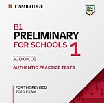 B1 Preliminary 1 for the Revised 2020 Exam (2019) Audio CDs
