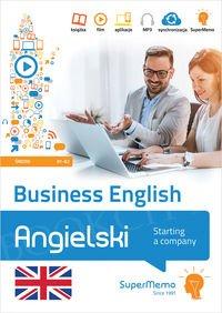 Business English – Starting a company (poziom średni B1-B2) Książka + kod dostępu