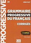 Grammaire Progressive du Français Débutant 3e édition Klucz