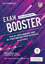 Cambridge English Exam Booster for Preliminary and Preliminary for Schools for the Revised 2020 Exams Book with Answer Key with Audio