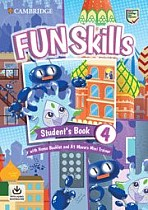 Fun Skills Level 4 Movers Student's Book with Home Booklet and Mini Trainer with Downloadable Audio