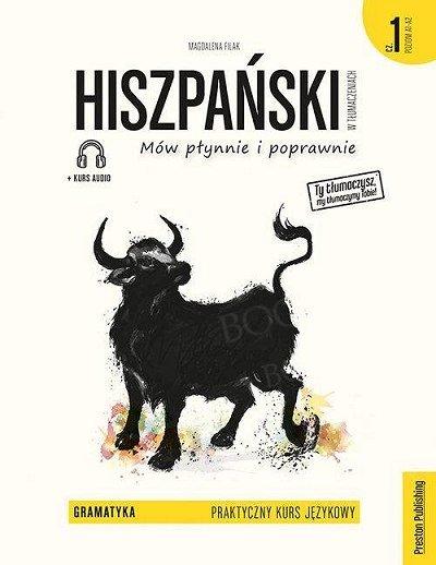 Hiszpański w tłumaczeniach. Gramatyka 1 Książka + audio online