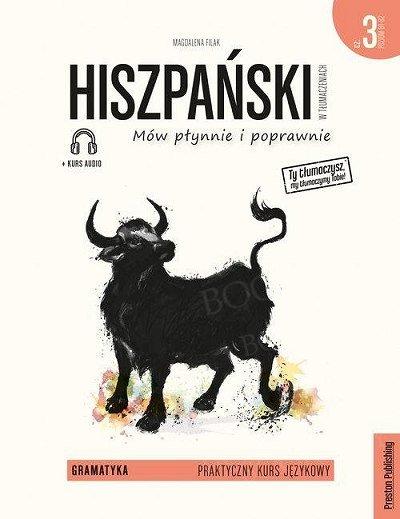 Hiszpański w tłumaczeniach. Gramatyka 3 Książka + audio online