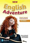 New English Adventure 1 Zeszyt ćwiczeń wydanie rozszerzone plus DVD