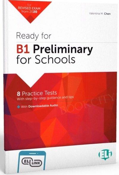 Ready for B1 Preliminary for Schools Książka + mp3 online