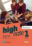 High Note 1 Student's Book + kod (Digital Resources + Interactive eBook)
