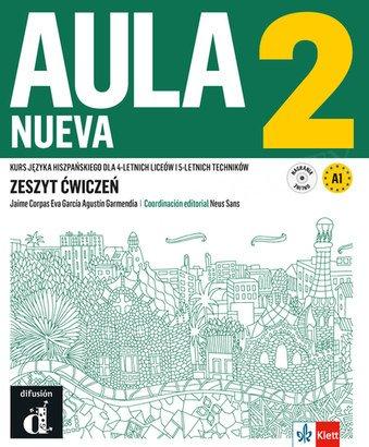 Aula Nueva 2 (szkoły ponadpodstawowe) Zeszyt ćwiczeń + CD