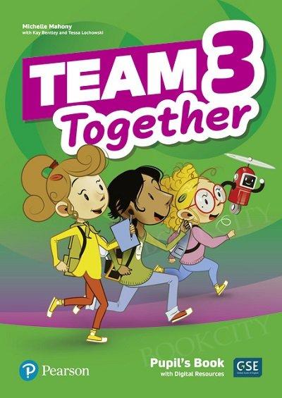 Team Together 3 Pupil's Book + Digital Resources