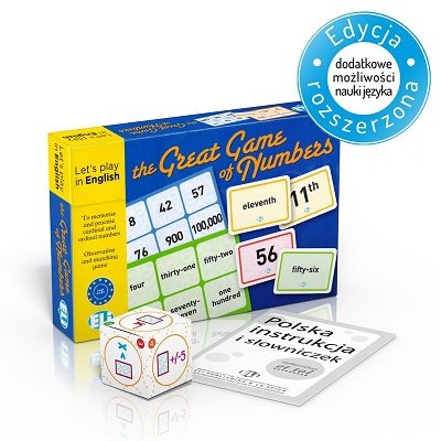 The Great Game of Numbers - gra językowa z polską instrukcją i suplementem