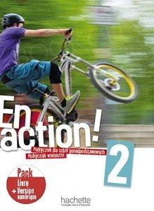 En Action 2 (szkoły ponadpodstawowe) Podręcznik + audio mp3 online  + kod (podręcznik online)