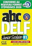ABC DELF B1 junior scolaire. Nowa formuła 2021 Książka + CD + zawartość online