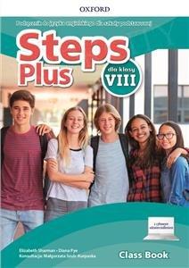 Steps Plus dla klasy 8 Podręcznik z dostępem do nagrań audio i cyfrowym odzwierciedleniem
