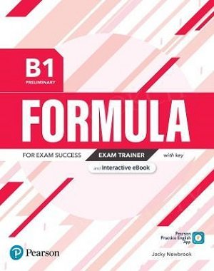 Formula B1 Preliminary Exam Trainer with key with student online resources + App + eBook