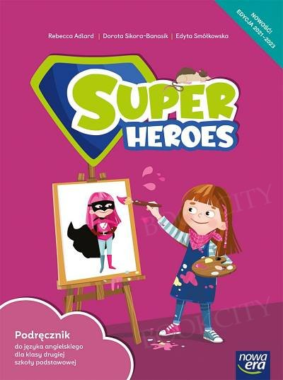 Super Heroes kl.2 Podręcznik