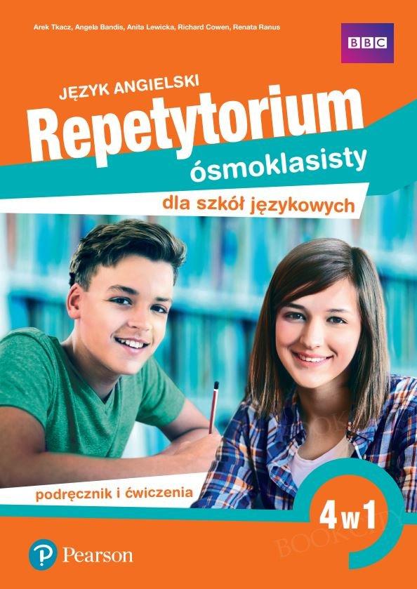 Repetytorium Ósmoklasisty dla szkół językowych (klasa 7 i 8 razem) Podręcznik + Ćwiczenia (4w1)