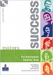 Matura Success Pre-Intermediate Students' Book plus CD-ROM