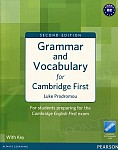 Grammar and Vocabulary for FCE