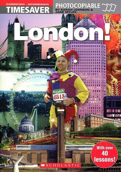 English Timesavers: London! książka + plakat