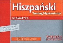Hiszpański - Trening błyskawiczny Gramatyka
