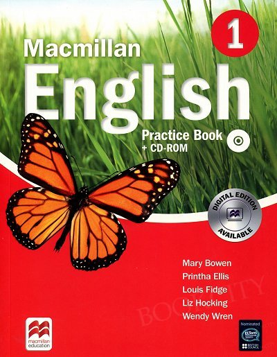 Macmillan English 1 Practice Book & CD Rom Pack New Edition